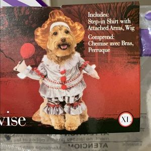 XL Pennywise Dog Costume